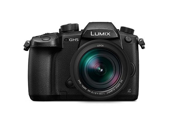 DC-GH5LK - LUMIX G Interchangeable lens camera with 4K video capability + 6K photo (with 12-60 mm LEICA DG lens kit)